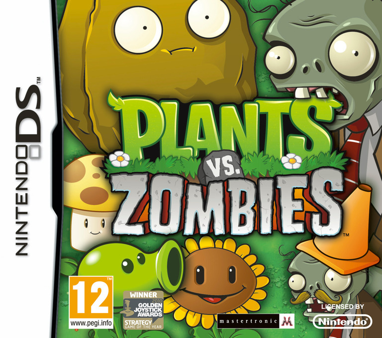 Plants vs. Zombies DS coverHQ (BWBY)