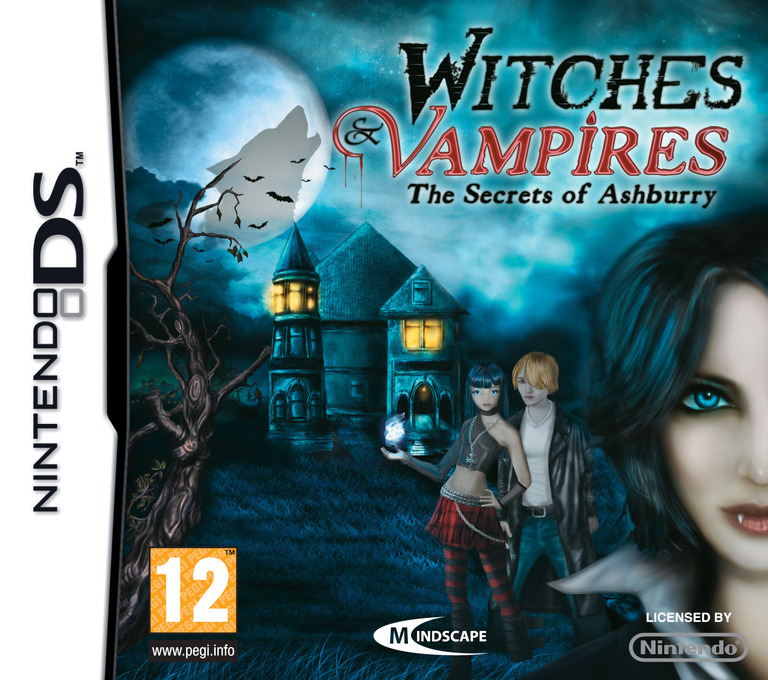 Witches & Vampires - The Secrets of Ashburry DS coverHQ (BWVP)
