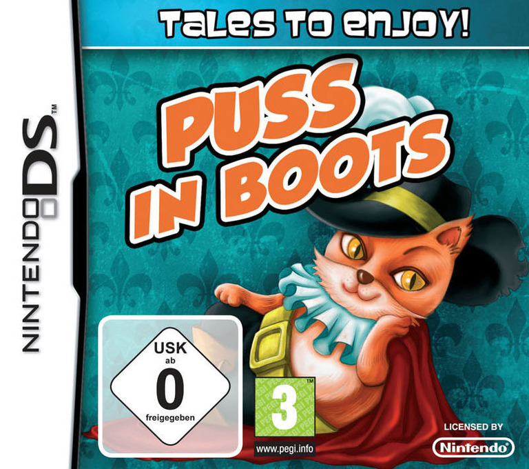 Tales to Enjoy! - Puss in Boots DS coverHQ (BX3P)