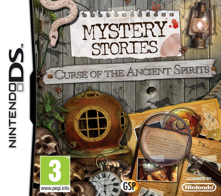 Mystery Stories - Curse of the Ancient Spirits DS coverHQ (BXCX)