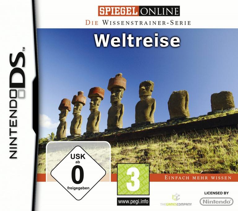 Spiegel Online - Die Wissenstrainer-Serie - Weltreise DS coverHQ (BY5D)