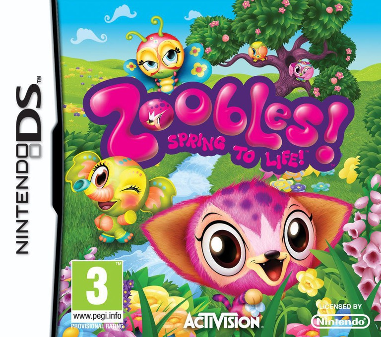 Zoobles! Spring to Life! DS coverHQ (BZ6P)