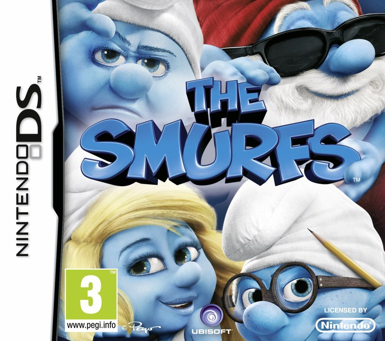 The Smurfs DS coverHQ (BZUP)