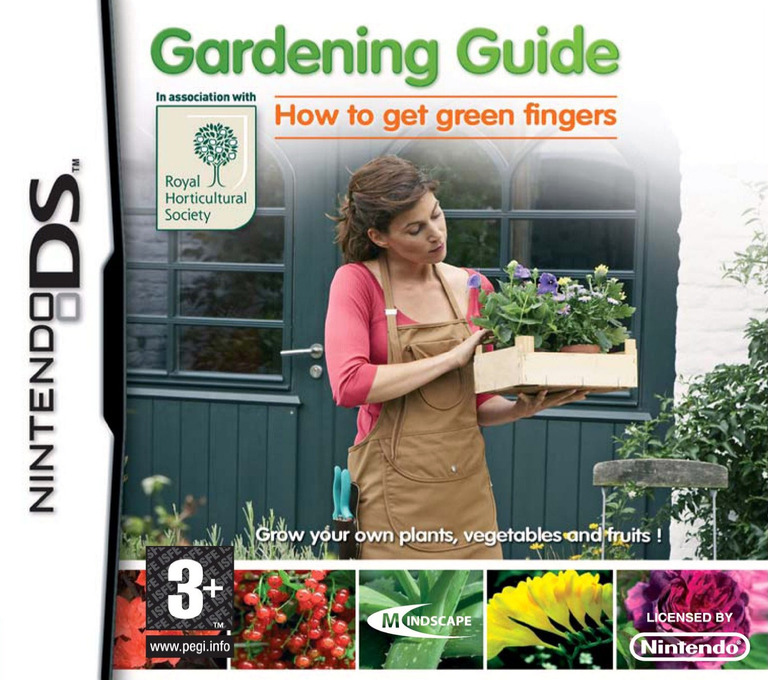 Gardening Guide - How to Get Green Fingers DS coverHQ (C3FU)