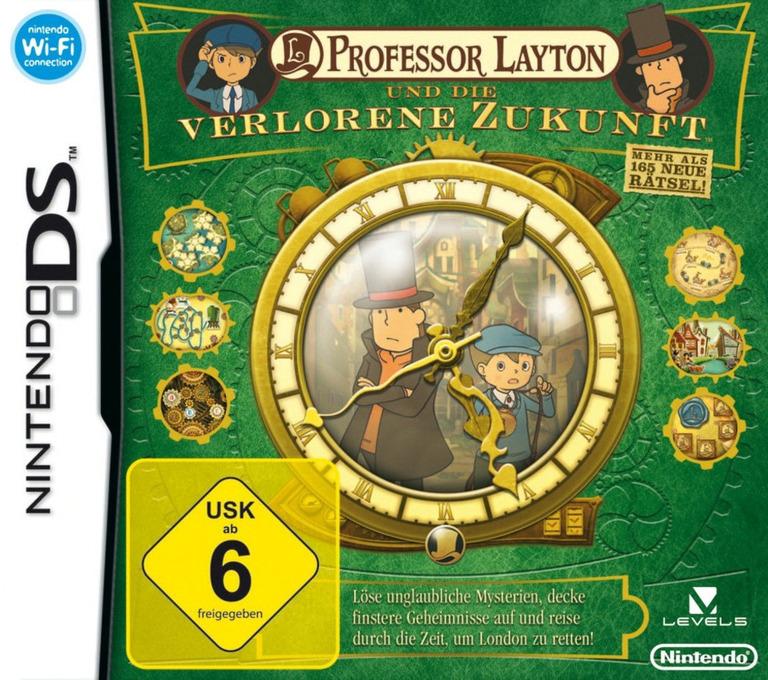 Professor Layton und die Verlorene Zukunft DS coverHQ (C3JD)