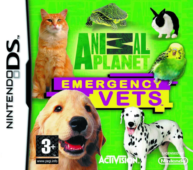 Animal Planet - Emergency Vets DS coverHQ (C4VP)