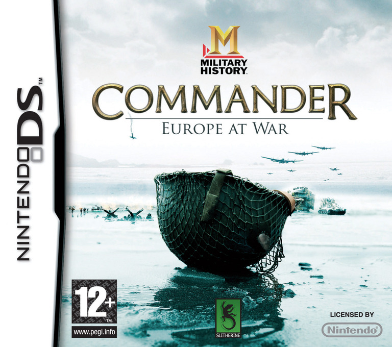Military History - Commander - Europe at War DS coverHQ (C5CP)
