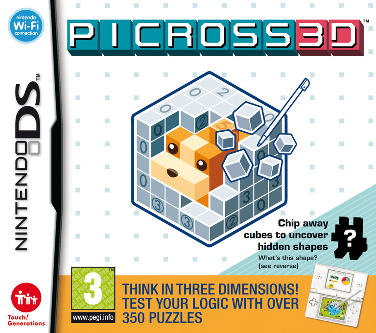 Picross 3D DS coverHQ (C6PP)