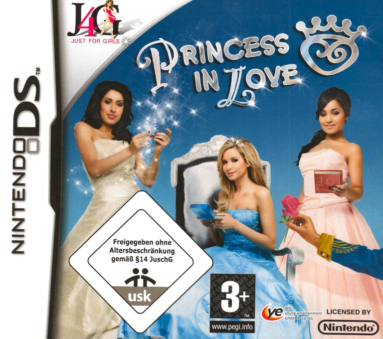 Princess in Love DS coverHQ (C6VP)