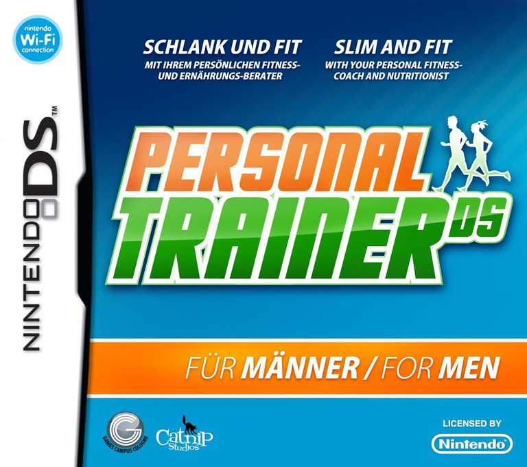 Personal Trainer DS for Men DS coverHQ (C7MP)