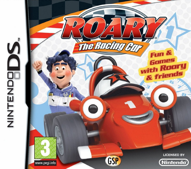 Roary the Racing Car DS coverHQ (C7RP)