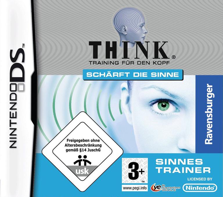 Think - Training fuer den Kopf - Sinnes Trainer DS coverHQ (C7TP)