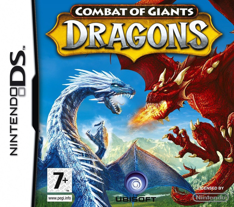 Combat of Giants - Dragons DS coverHQ (C7UP)