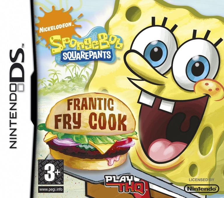 SpongeBob SquarePants - Frantic Fry Cook DS coverHQ (CCKP)