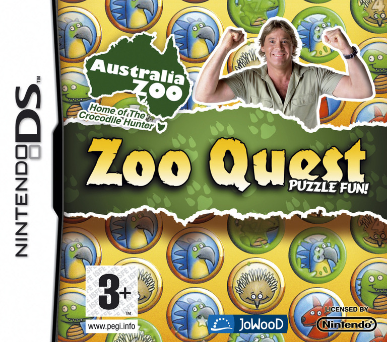 Zoo Quest - Puzzle Fun! DS coverHQ (CCZP)