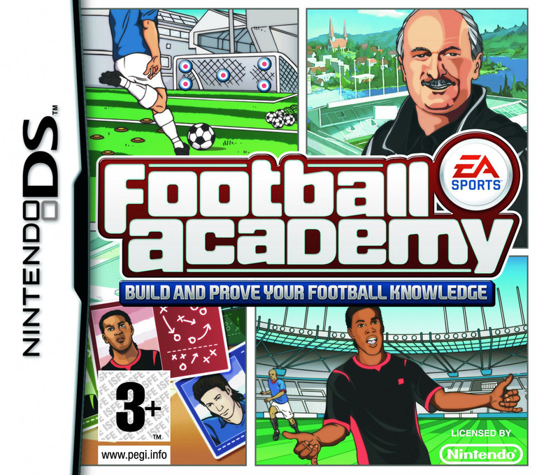 Football Academy - Build and Prove Your Football Knowledge DS coverHQ (CFHP)