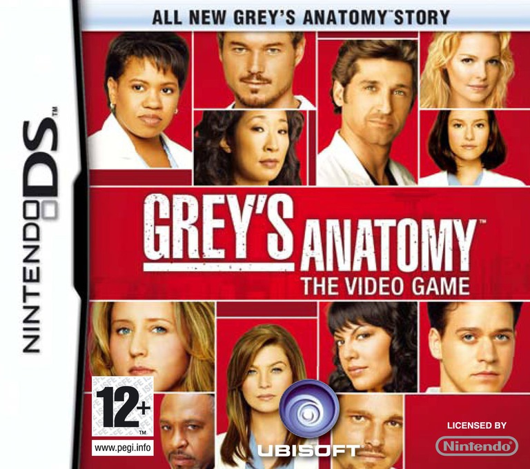 Grey's Anatomy - The Video Game DS coverHQ (CG5P)