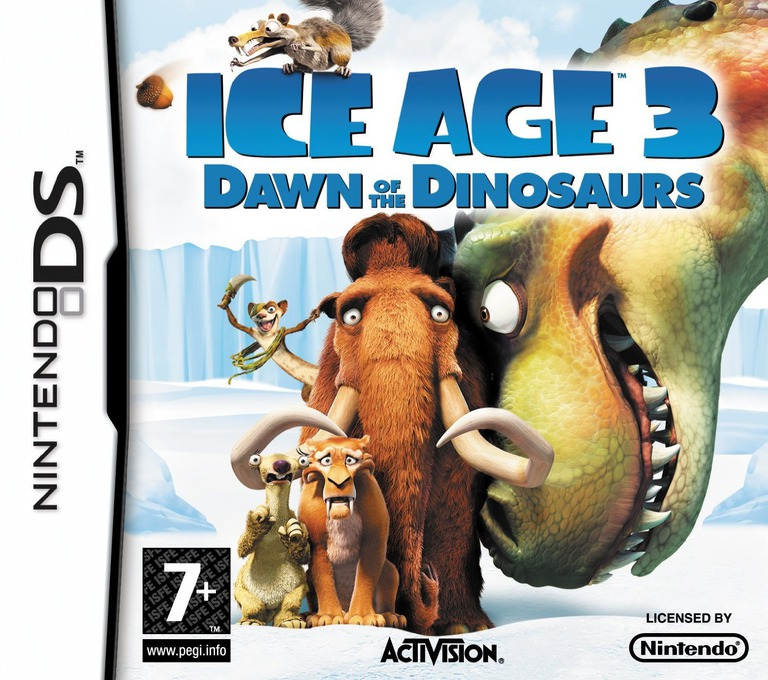Ice Age 3 - Dawn of the Dinosaurs DS coverHQ (CI3P)