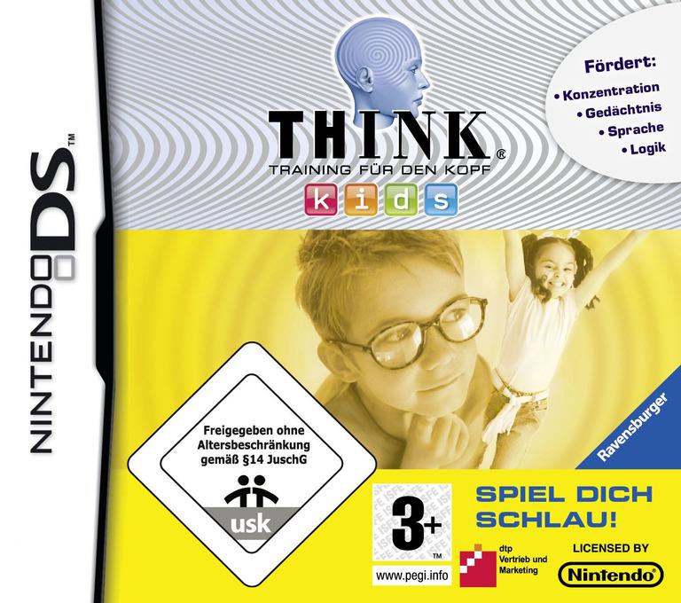 Think - Training fuer den Kopf - Kids - Spiel Dich Schlau! DS coverHQ (CI9P)