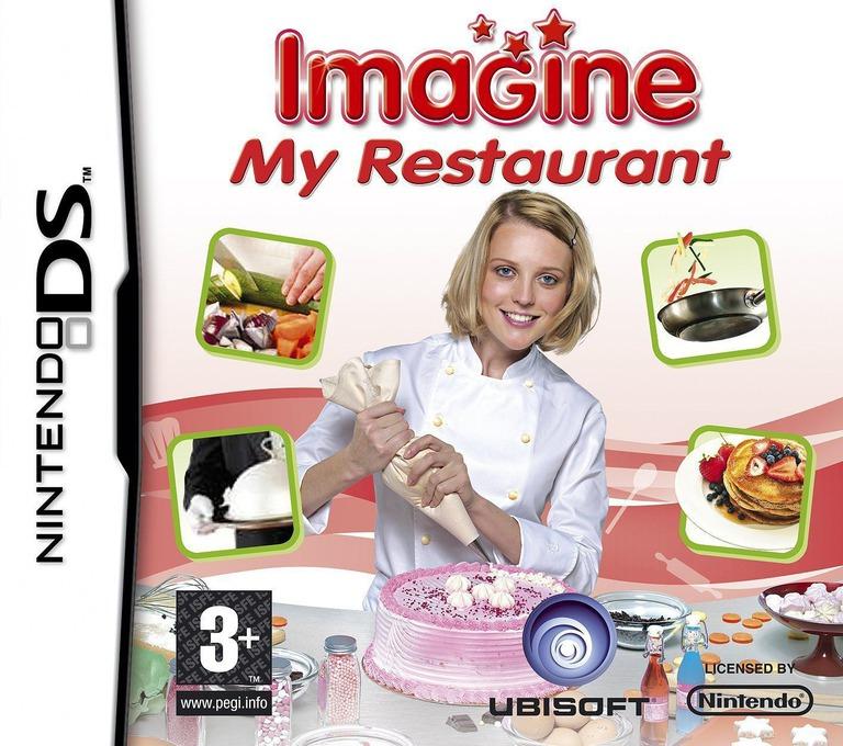 Imagine - My Restaurant DS coverHQ (CIFP)