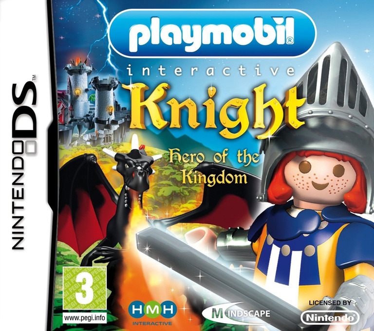 Playmobil Interactive - Knight - Hero of the Kingdom DS coverHQ (CIYP)