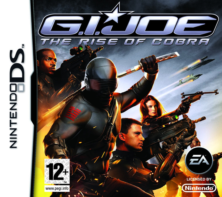 G.I. Joe - The Rise of Cobra DS coverHQ (CJPP)