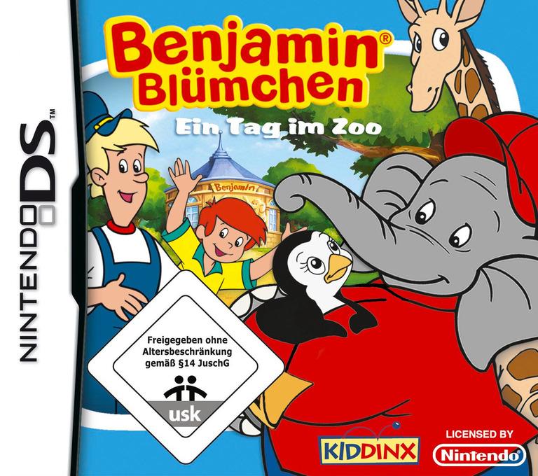 Benjamin Bluemchen - Ein Tag im Zoo DS coverHQ (CJYD)