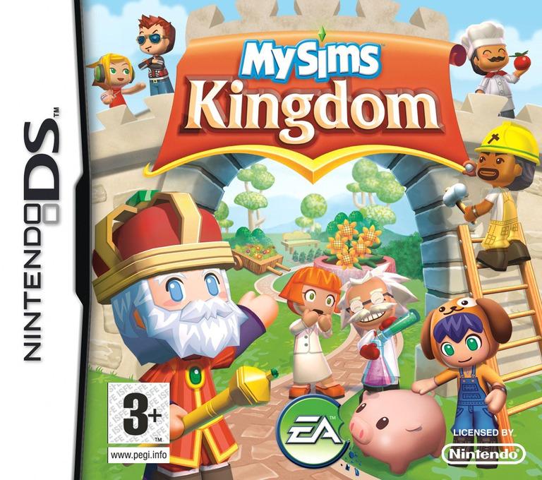 MySims - Kingdom DS coverHQ (CK5P)