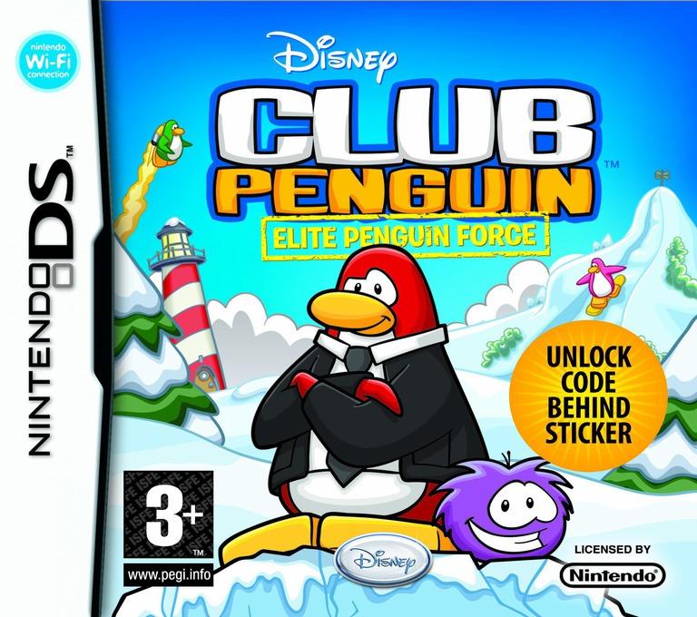 Club Penguin - Elite Penguin Force DS coverHQ (CLPP)