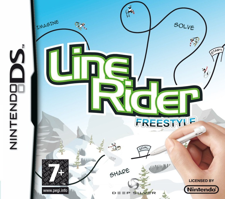 Line Rider - Freestyle DS coverHQ (CLRP)