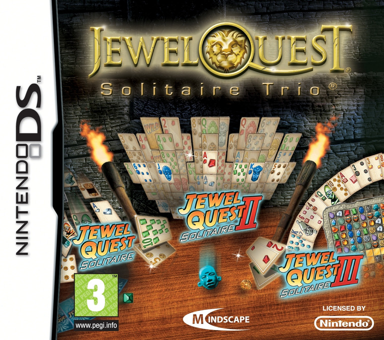 Jewel Quest - Solitaire Trio DS coverHQ (CNAY)