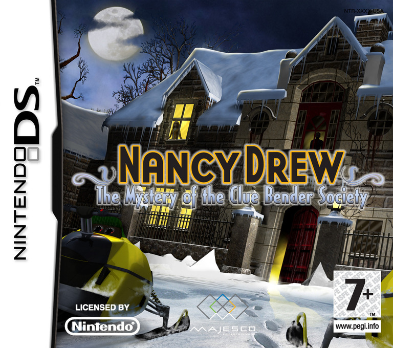 Nancy Drew - The Mystery of the Clue Bender Society DS coverHQ (CNMP)