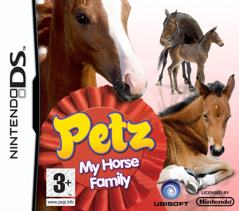 Petz - My Horse Family DS coverHQ (CP8P)