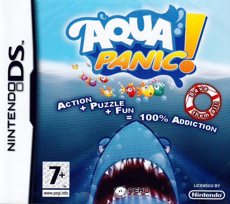 Aqua Panic! DS coverHQ (CQ8P)