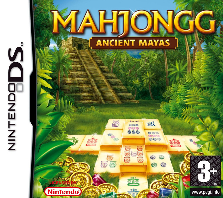 Mahjongg - Ancient Mayas DS coverHQ (CQJP)