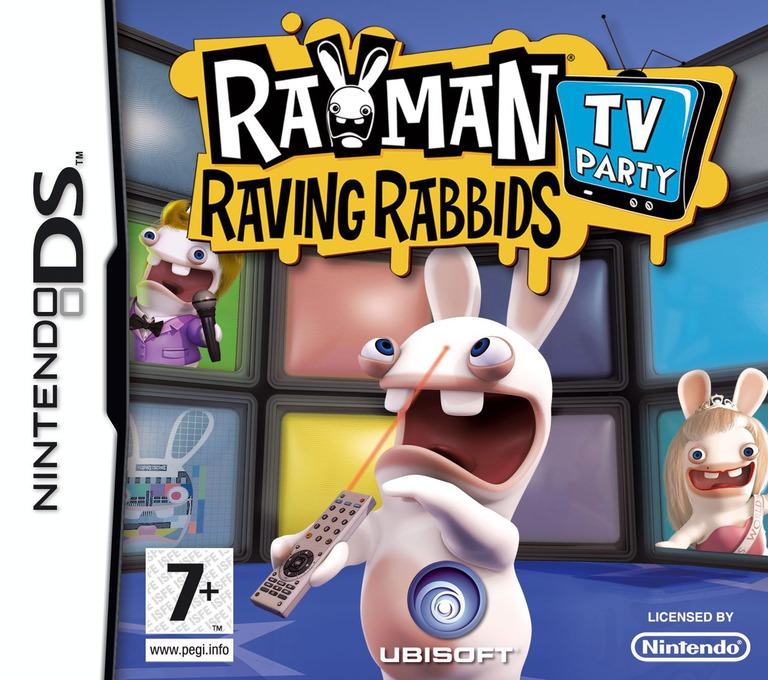 Rayman - Raving Rabbids - TV Party DS coverHQ (CRIP)