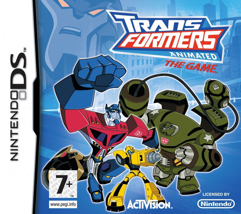 Transformers Animated - The Game DS coverHQ (CTFP)