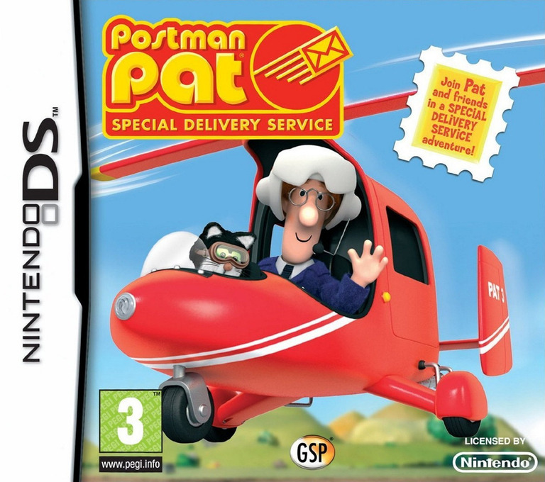 Postman Pat - Special Delivery Service DS coverHQ (CU8P)