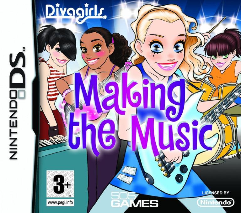 Diva Girls - Making the Music DS coverHQ (CV5P)