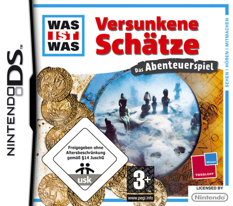 Was ist Was - Lost Treasures - The Adventure Game DS coverHQ (CVQP)