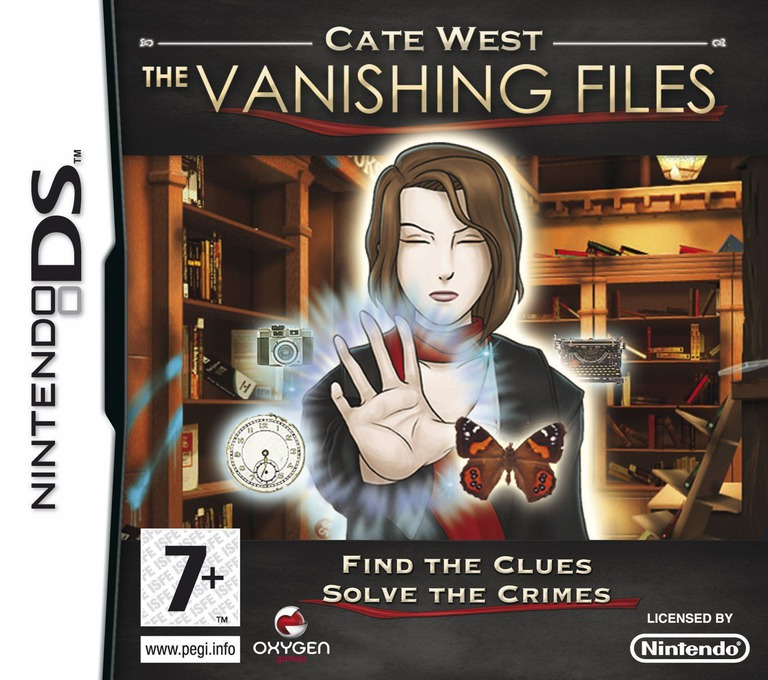 Cate West - The Vanishing Files DS coverHQ (CWFP)