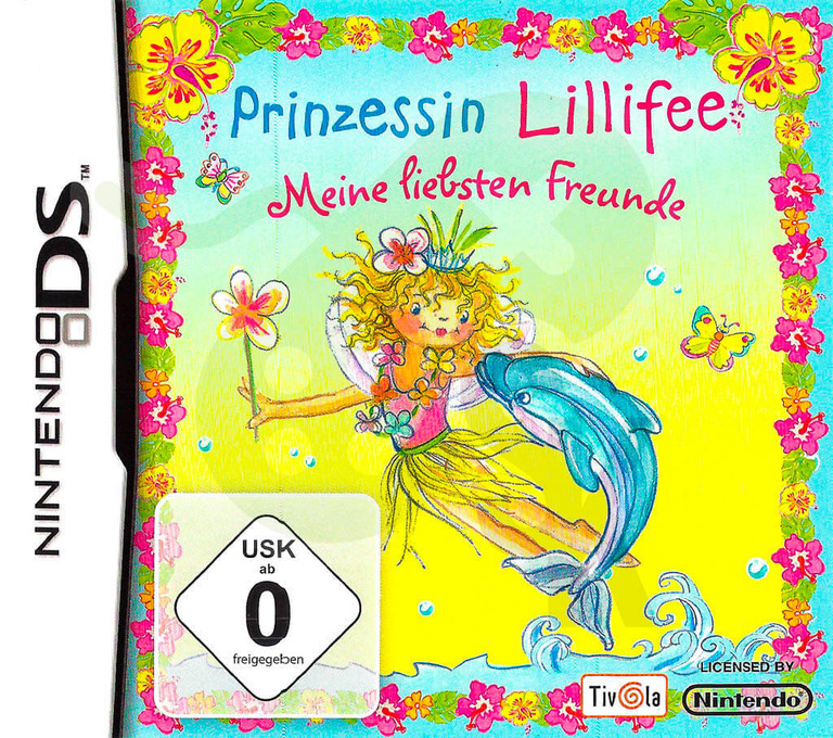 Princess Lillifee - My Dearest Friends DS coverHQ (CYLP)