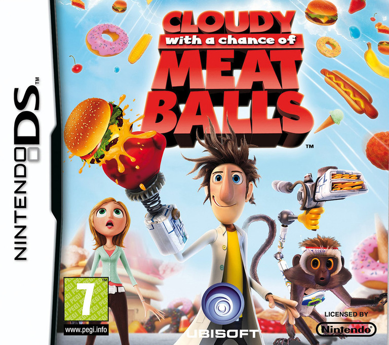 Cloudy with a Chance of Meatballs DS coverHQ (CZAP)
