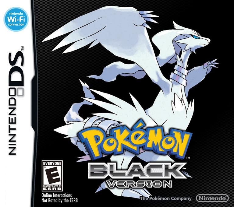 Pokémon - Black Version DS coverHQ (IRBO)