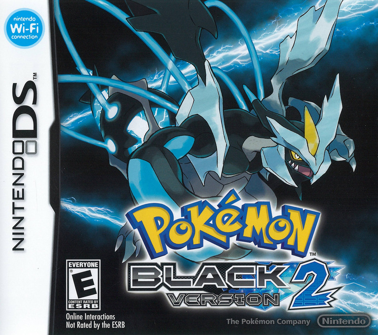 Pokémon - Black Version 2 DS coverHQ (IREO)