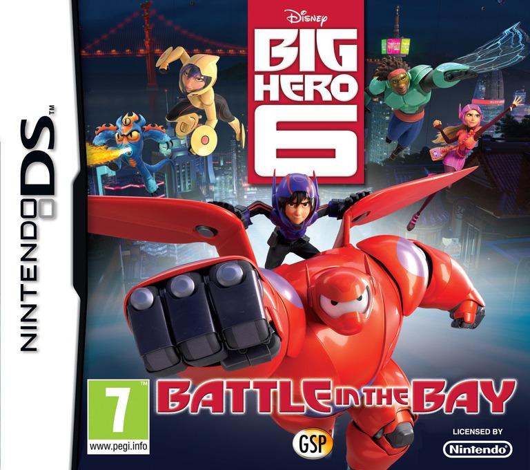 Disney Big Hero 6 - Battle in the Bay DS coverHQ (TB6P)