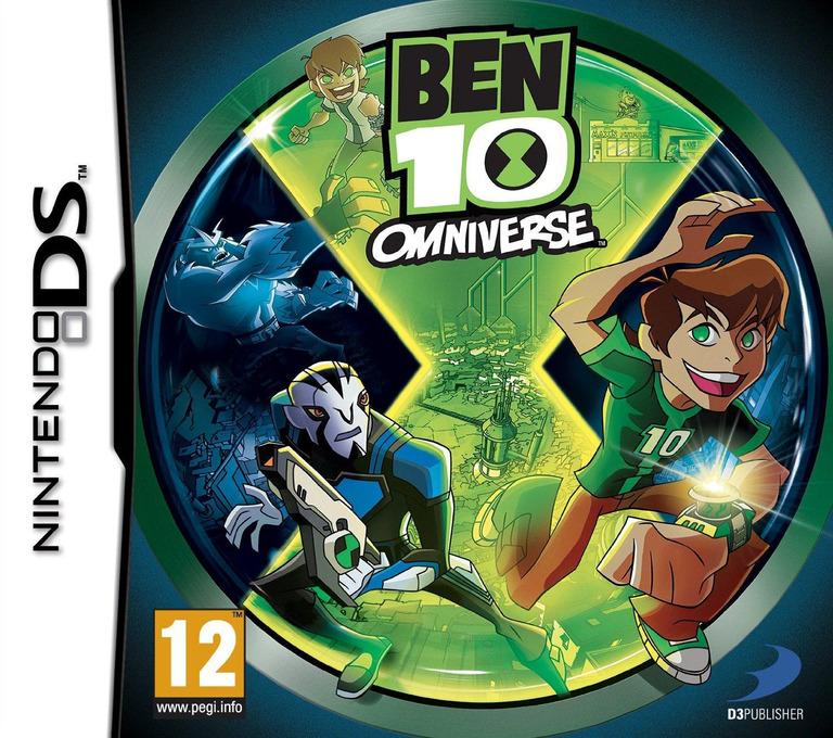 Ben 10 - Omniverse DS coverHQ (TBEP)