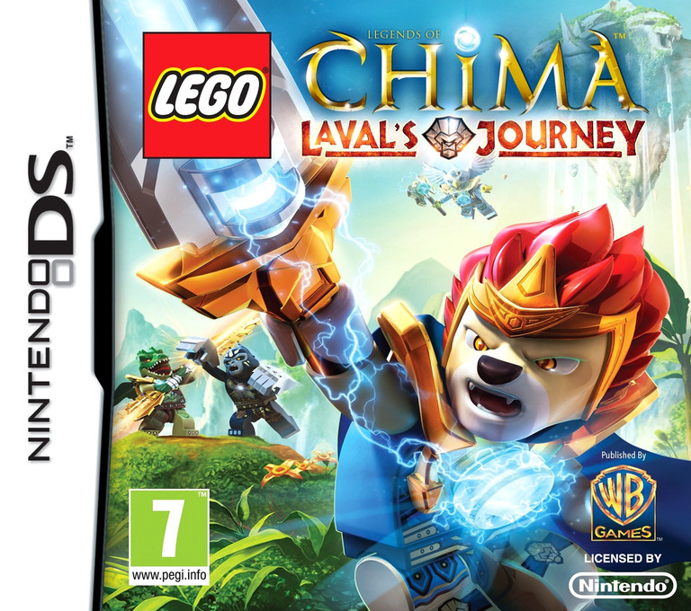 LEGO Legends of Chima - Laval's Journey DS coverHQ (TCBD)