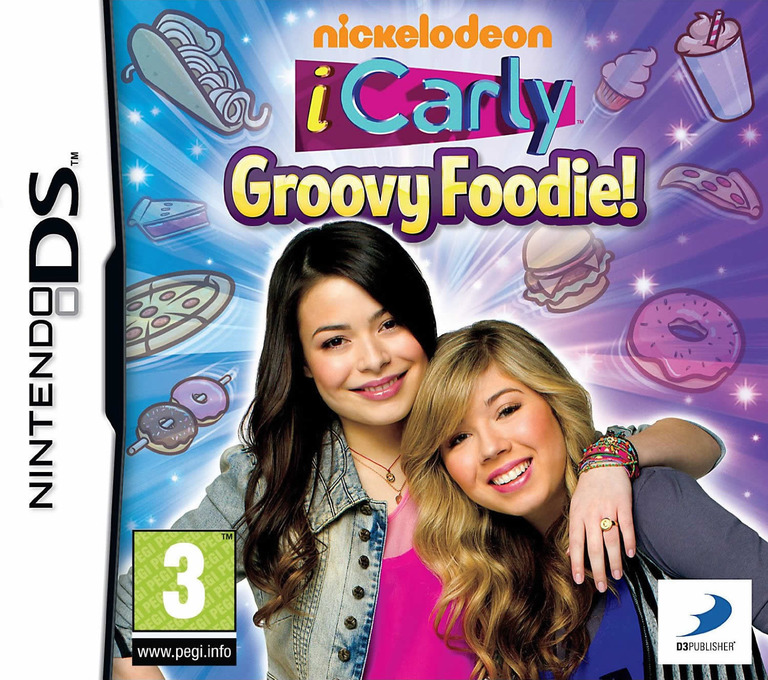 iCarly - Groovy Foodie! DS coverHQ (TCLP)