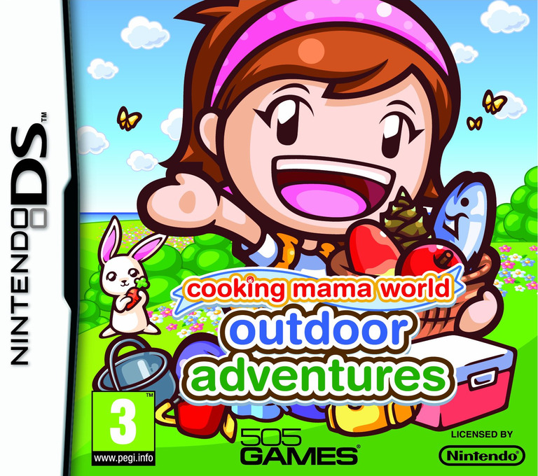 Cooking Mama World - Outdoor Adventures DS coverHQ (TCMP)